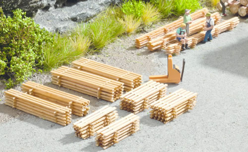 Noch 14628 - Piles of Planks, 8 piles