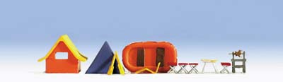 Noch 14811 - Camping Site Accessories