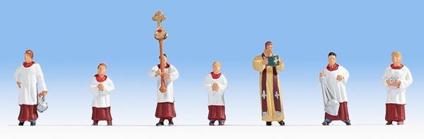 Noch 15410 - Priest and Altar Servers