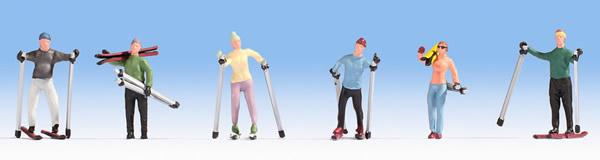 Noch 15827 - Skiers