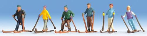 Noch 15828 - Skiers