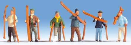 Noch 15829 - Skiers