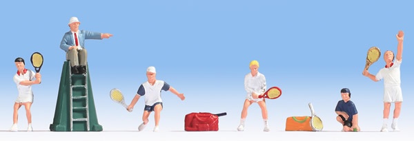 Noch 15880 - Tennis Players