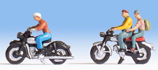 Noch 15904 - Motorcyclists