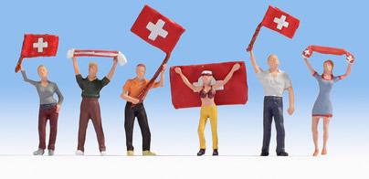 Noch 15986 - Swiss Fans