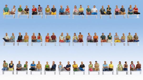 Noch 16072 - Mega Economy Set Sitting Passengers