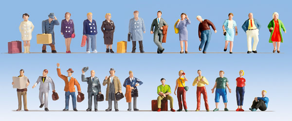 Noch 16101 - XL Figures Set Travellers