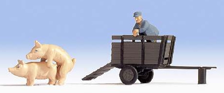 Noch 16656 - Pig transport