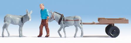 Noch 16664 - Donkey Cart