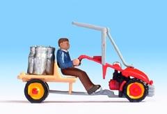 Noch 16748 - Single-Axle Tractor Bucher