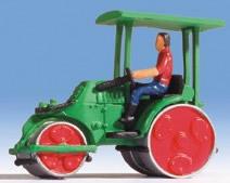 Noch 16766 - Zettelmeyer Road Roller, green