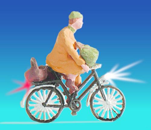 Noch 17570 - Cyclist, illuminated