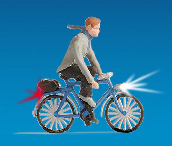 Noch 17572 - Cyclist, illuminated