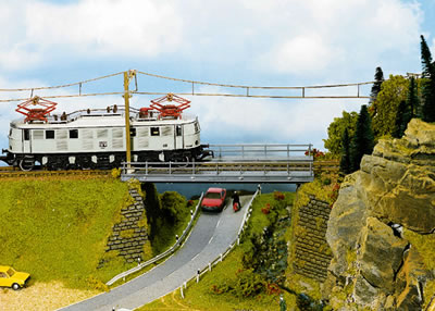 Noch 21340 - Bridge Base, straight