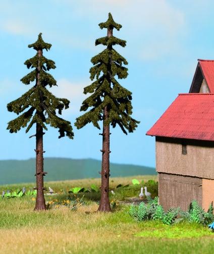 Noch 21925 - High Trunk Spruce Trees, 2 pcs.,