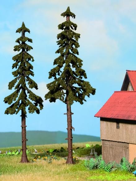 Noch 21926 - High Trunk Spruce Trees, 2 pcs.,