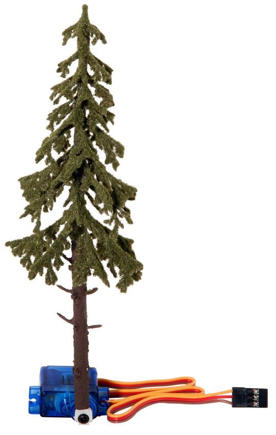 Noch 21929 - Falling Spruce Tree