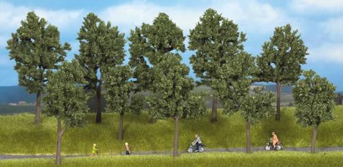 Noch 24105 - Trees Summer, 5 pcs., 10 - 14 cm high