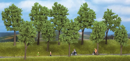Noch 24200 - Trees Spring, 10 pcs., 10 - 14 cm high