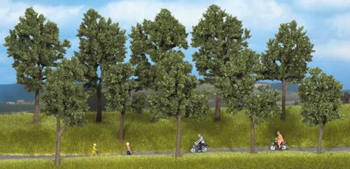 Noch 24215 - Trees Summer, 10 pcs., 4 - 10 cm high
