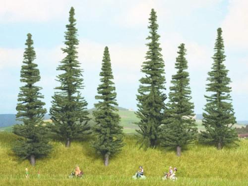 Noch 24255 - Fir Trees, 6 pcs., 16 - 20 cm high