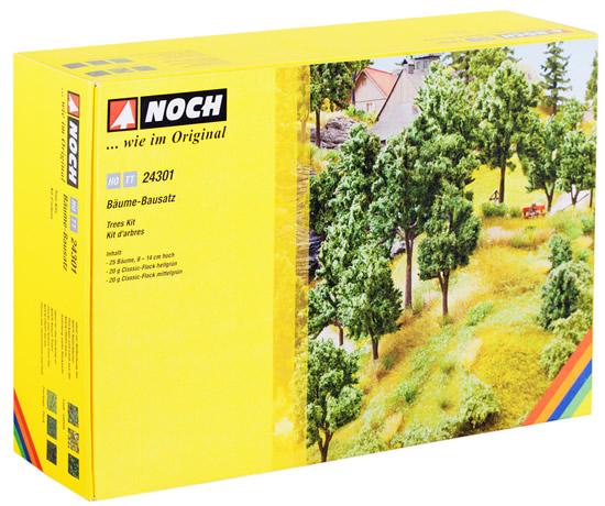 Noch 24301 - Trees Kit, 8 - 14 cm high