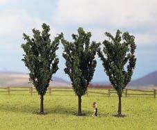 Noch 25140 - Poplars, 3 pcs., 12 cm high