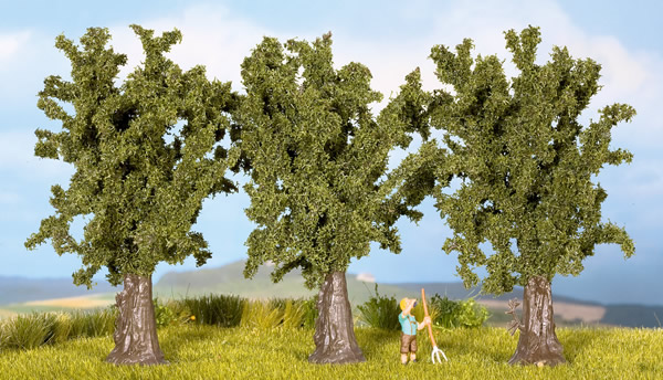 Noch 25150 - Maples, 3 pcs., 9 cm high