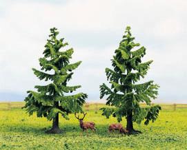 Noch 25220 - Spruce Trees