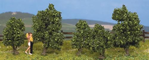 Noch 25420 - Bushes, in blossom, 5 pcs., 3 - 4 cm high