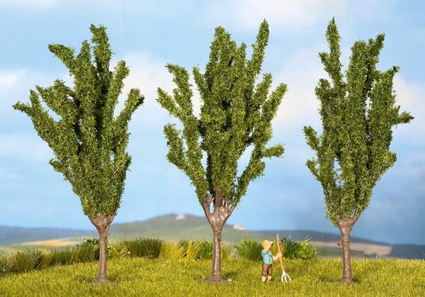 Noch 25525 - Poplars, 3 pcs., 5.5 cm high