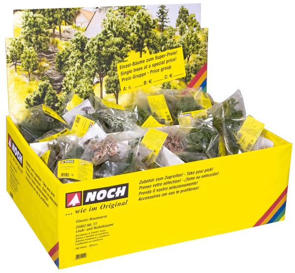 Noch 25950 - Deciduous Trees, 100 pieces