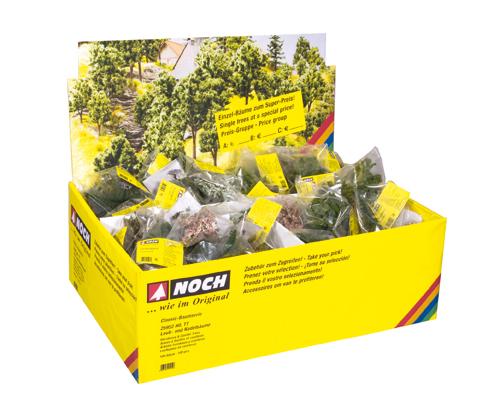 Noch 25952 - Deciduous-& Conifer Trees, 100 pieces