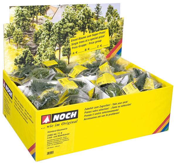 Noch 25960 - Deciduous Trees, 100 pieces