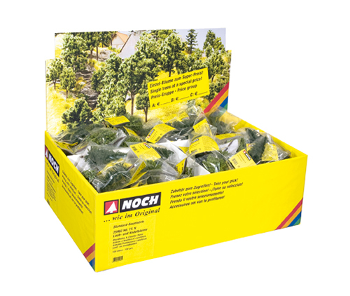 Noch 25962 - Deciduous and Conifer Trees, 100 pieces