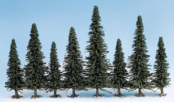 Noch 26321 - Model Fir Trees, 50 pieces, 6 - 15 cm high