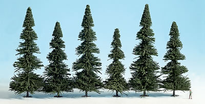 Noch 26322 - Model Fir Trees,extra large, 10 pcs., 17 - 20 cm