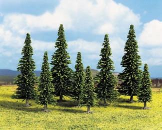 Noch 26325 - Model Spruce Trees, 25 pcs., 6 - 15 cm high