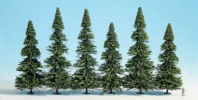 Noch 26327 - Model Spruce Trees, extra large, 10 pcs.