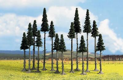 Noch 26340 - 25 Fir Trees, High Trunk