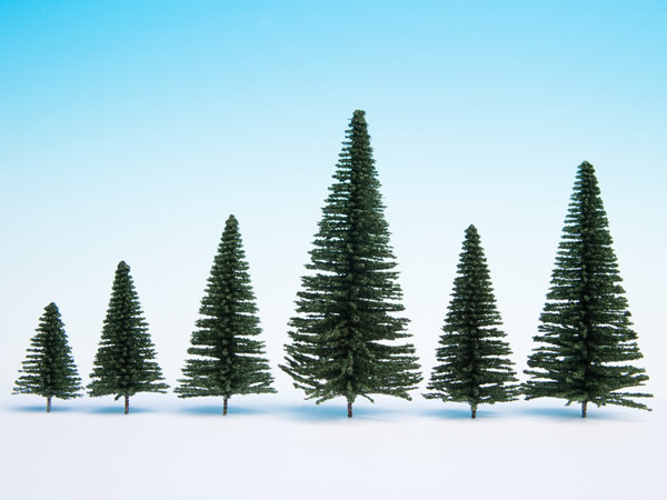 Noch 26830 - Fir Trees with Planting Pin, 25 pieces,