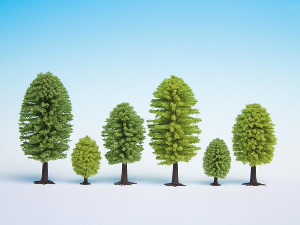 Noch 26901 - Deciduous Trees, 10 pieces, 5 - 9 cm high