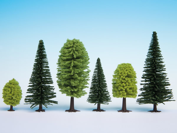 Noch 26911 - Mixed Forest, 10 trees, 5 - 14 cm high