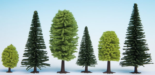 Noch 32811 - Mixed Forest, 25 trees, 3.5 - 9 cm high
