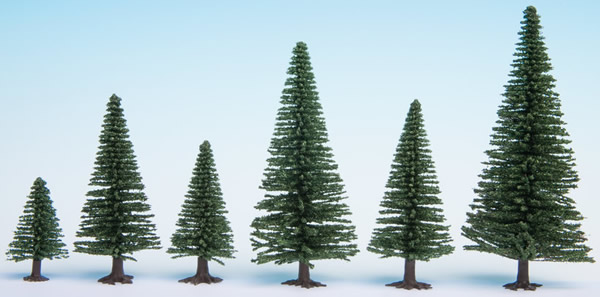 Noch 32820 - Model Fir Trees, 25 pieces, 3.5 - 9 cm high