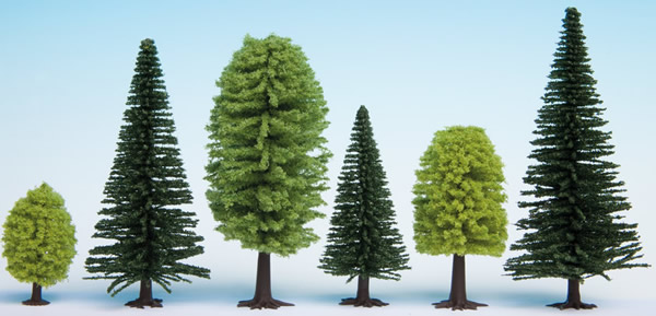 Noch 32911 - Mixed Forest, 10 trees, 3.5 - 9 cm high