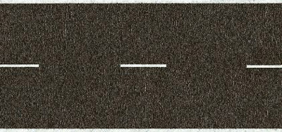 Noch 34100 - Country Road, grey, 100 x 2,9 cm
