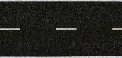 Noch 34150 - Asphalt Road, black, 100 x 2,9 cm