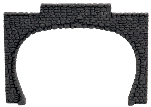 Noch 34410 - Tunnel Portal, Plastic, Double Track, 2 pcs.