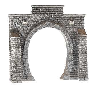 Noch 34851 - Tunnel Portal, Single Track, 7.9 x 7.6 cm